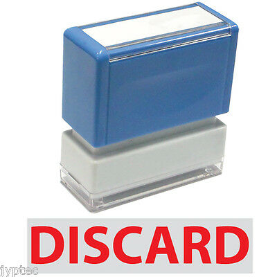 """JYP PA1040 Pre-Inked Rubber Stamp with """"Discard"""""""