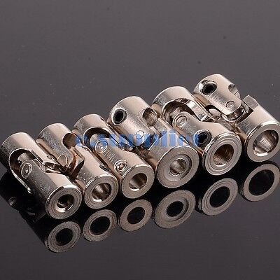 Shaft Coupling Motor connector Stainless Steel Universal Joint 3 3.175 4 5 6 mm