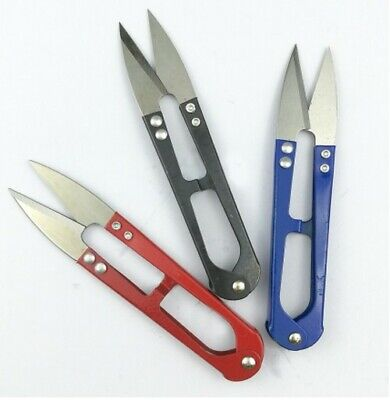 Sewing Embroidery Fishing Line Nipper Scissor Snips Beading Thread Cutter thrum