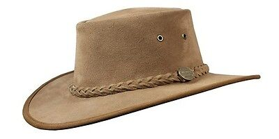 Barmah Foldaway Cattle Suede Leather Hat