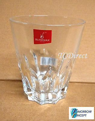 6x 293ml Tumblers Glasses Cafe Restaurant Bar Drinking (KTY4023)