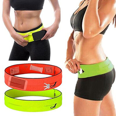 Unisex Cycling Jogging Sport Fanny Pack Running Belt Waist Bag Cool