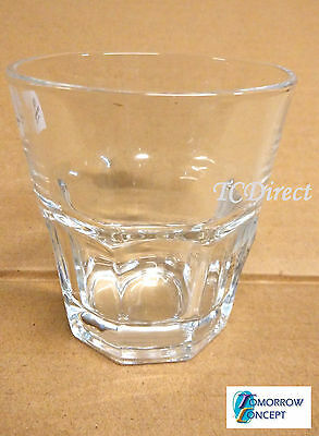 6x 192ml Classic Tumnlers Espresso Coffee Glasses Cafe Restaurant Bar (KTY5012)