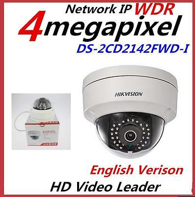 HIKVISION Video Surveillance DS-2CD2142FWD-I 4MP WDR Network Dome IR Camera