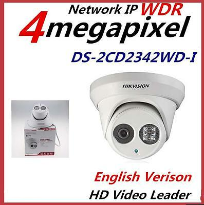 Hikvision DS-2CD2342WD-I 4MP WDR EXIR Network Dome IR security Camera IP66 POE