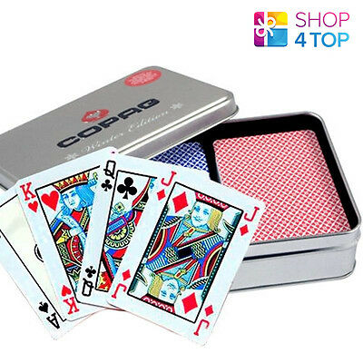 Copag Four Seasons Plastic Poker Playing Cards Winter Limited Edition 2 Decks