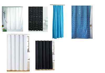 New Luxurious Shower Curtain Modern Stripes 100% Polyester