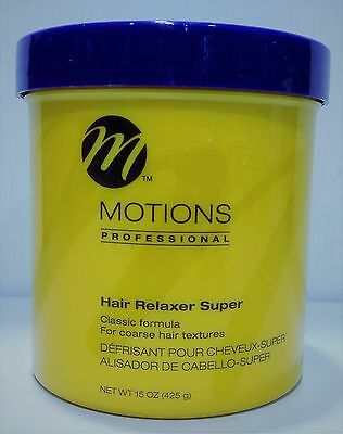 Motions Professional Hair Relaxer Super 15oz (425g)