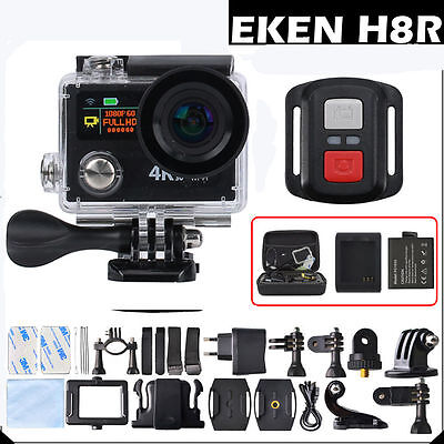 "EKEN H8 / H8R SE 4K / 30fps WiFi 2.0""Dual LCD Remote Controller Action camera"