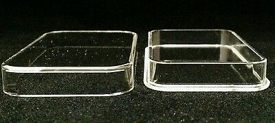 5oz Silver Bar Direct Fit Air-Tite Brand Capsule Holders Qty: 5