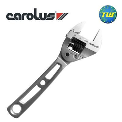Carolus 6in Adjustable Ratchet Wrench Spanner 150mm 22mm 120Nm CAR201