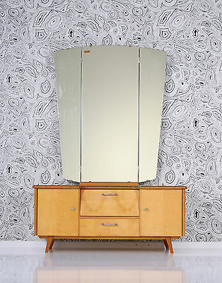 1950s dressing table BLONDWOOD mirror table de maquillage 50s a 50 a50 tocador