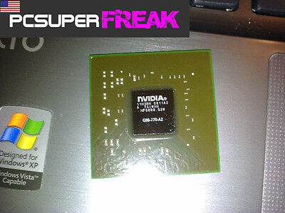 nVidia G86-770-A2 BGA IC Graphic Chipset With Lead Balls Tested