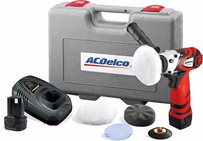 "ACDELCO ARS1210R 12v 3"" Mini Polisher LI-ION CORDLESS brand new polisher Eppys"