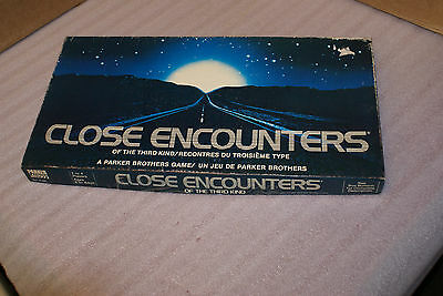 Close Encounters of the Third Kind Vintage Board Game COMPLETE