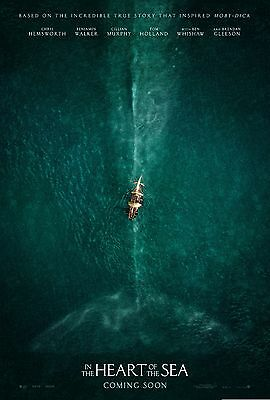 In The Heart Of The Sea Movie Poster (24x36) - Chris Hemsworth, Cillian Murphy