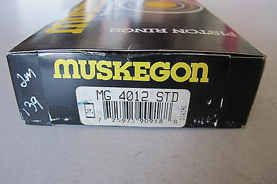 Muskegon MG4012 STD Engine Piston Ring Ford GMC Chevrolet Jeep Oldsmobile Dodge