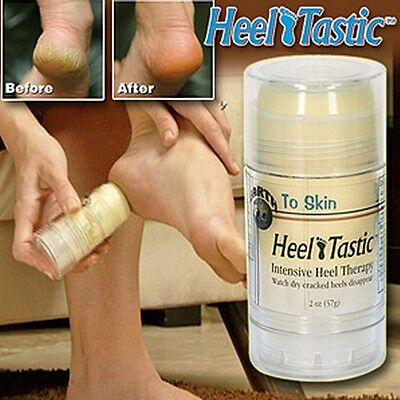 Heel Therapy Cracked Dry Heal Treatment Skin Care Tastic Repair Relief Healing