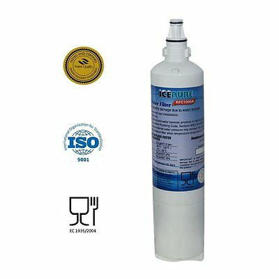 Icepure RFC1000A Refrigerator Water Filter Compatible With LG LT600P 5231JA2006A