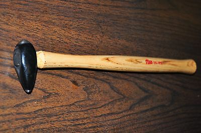 Auto Body Pick Peen Stub  Hammer With Long Wood Handle Martin 165G Made In Usa