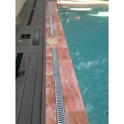 Rosso Vein Cut Tumbled Paver Travertine Tile Flooring Pool Coping 250x250x30