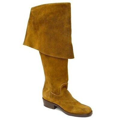 Jack Sparrow Pirate Boots by CABOOTS Men's Size 10 Tan Suede