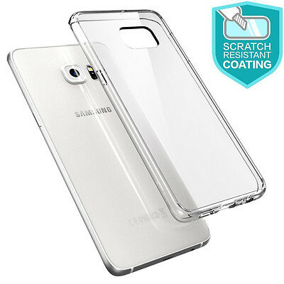 Silicone Gel TPU Rubber Clear Case Skin Cover For Samsung Galaxy S6 Edge Plus