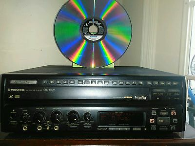 Pioneer Karaoke Laserdisc CDV Player CLD-2710K ( On Deadly Ground ) Bonus Movie