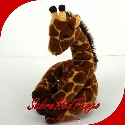 "Ty Classic 2003 Stuffed Animal Plush 13"" Hightops Giraffe"