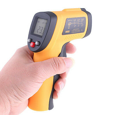 Digital Non-Contact Laser Point Gun IR Infrared Thermometer -50-550℃
