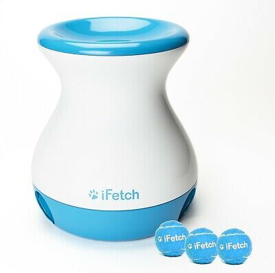iFetch Frenzy - The Latest Interactive Game for Dogs! No batteries/power needed!