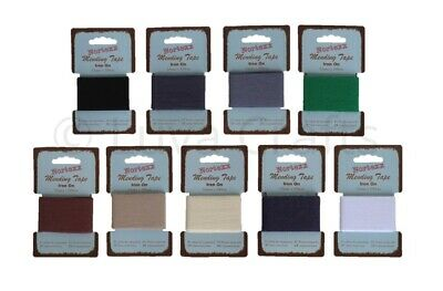 Nortexx Iron On Cotton Mending Tape Fabric Repair 1m x 35mm - Choice of Colours