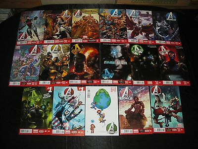 Avengers World 1 Young Variant 1 - 11 2 3 4 5 6 7 - 10 Avengers Undercover 1 - 5