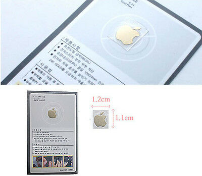 NEW Anti Radiation Sticker Gold Plating Mobile Phone, MP3, PC apple logo korea