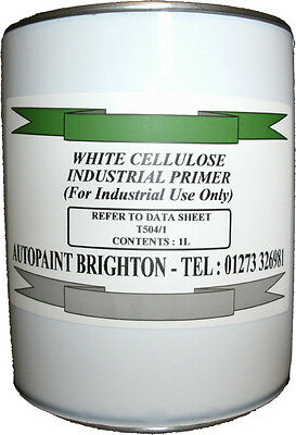 Cellulose Industrial Primer High Build White 5L