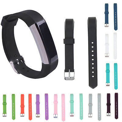 Luxury Silicone Replacement Watch Band Classic Strap for Fitbit Alta Tracker New