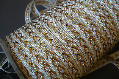 Metallic Gold Vintage Braid.  3 Metres for $5. For Millinery, Craft etc..