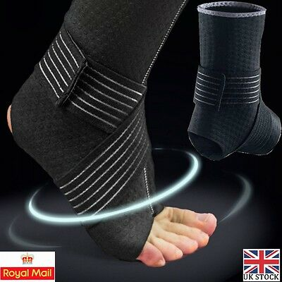 Neoprene Foot Orthotic Correction Ankle Support Brace Plantar Fasciitis Wrap UK