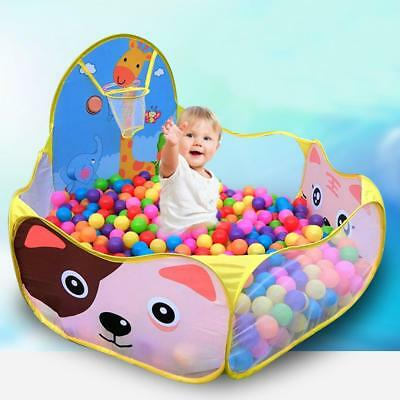 Portable Kids Child Ball Pit Pool Play Tent for Baby Indoor Outdoor Game Toy New