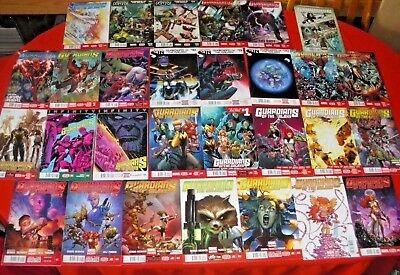Guardians Of The Galaxy 0.1 1 -27 Annual 1 Complete Angela Thanos Infinity Fcbd