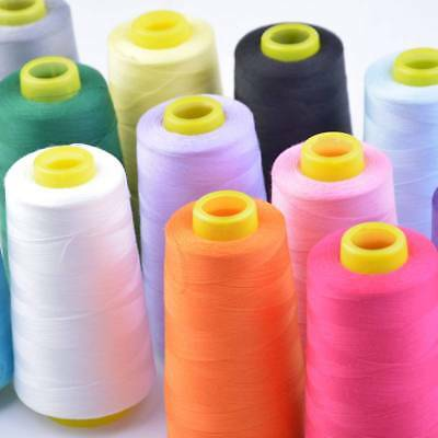 2950Yrds  2700Meters Top Quality Sewing Thread 120S Spun Polyester, Overlocking