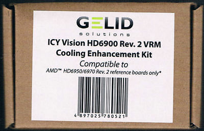 Gelid Enhancement KIT for Rev. 2 ICY Vision for AMD HD6950/6970