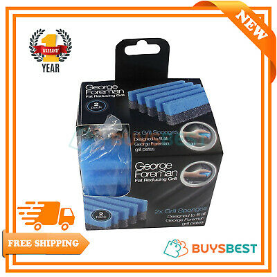 Genuine George Foreman Grill Cleaner Pack of 2 - 60102