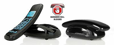 IDECT Solo Plus Twin Cordless Phones with Answer Machine and Call Blocker - NEW