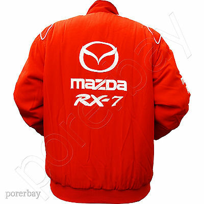 Mazda Rx7 Motor Sport Team Racing Jacket #jkmd04