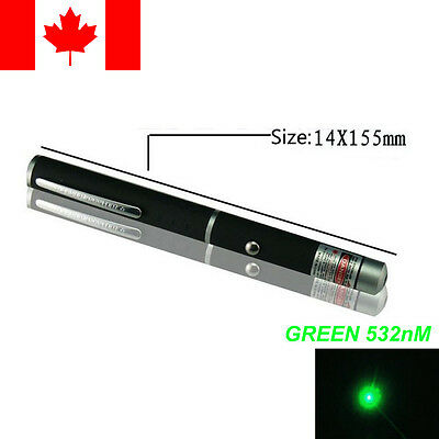 5mW Green Laser Pointer 532nm AAA Battery Pointeur Laser Cat Toy