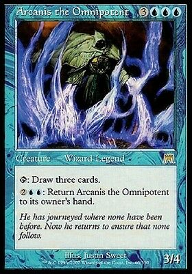 Magic Arcanis L'onnipotente - Arcanis The Omnipotent Rare Blue Onslaught Ons Mtg