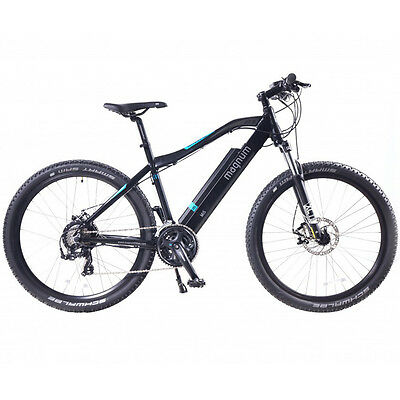 2016 Magnum Mi5 Electric Mountain Bike - Black, New