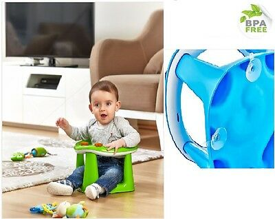 Baby Bath Seat Tub Ring dinning chair 3 In 1 Bath & Dining Seat Support