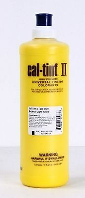 CAL-TINT II EXTERIOR LIGHT YELLOW Universal Tinting Colorant